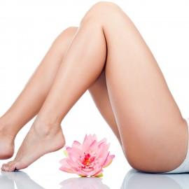 epilación cera piernas enteras mujer