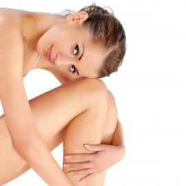 Depilación medias piernas mujer