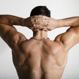 Depilación espalda hombre